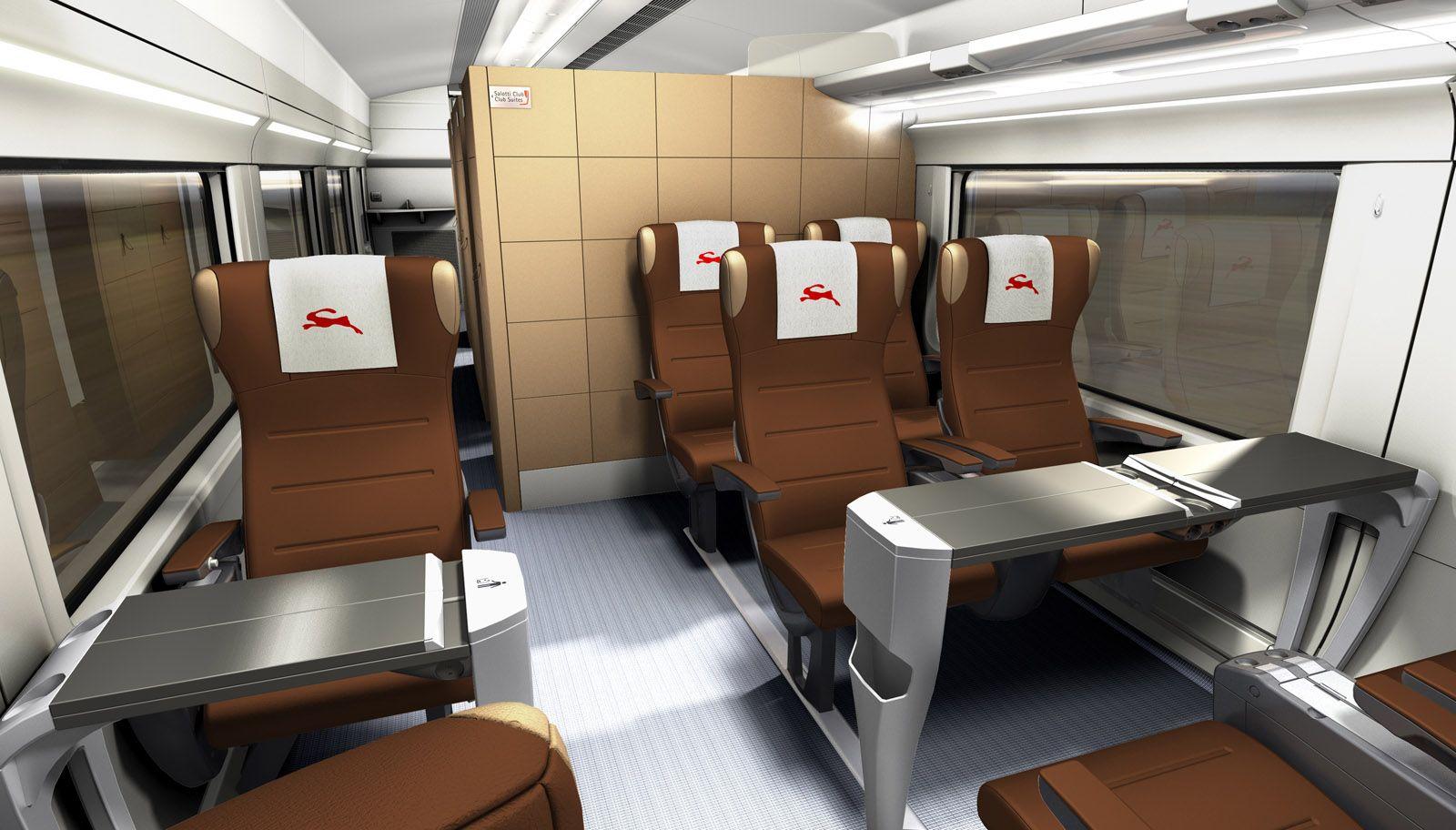 Italo A Component Of Giugiaro Design Transport Division S