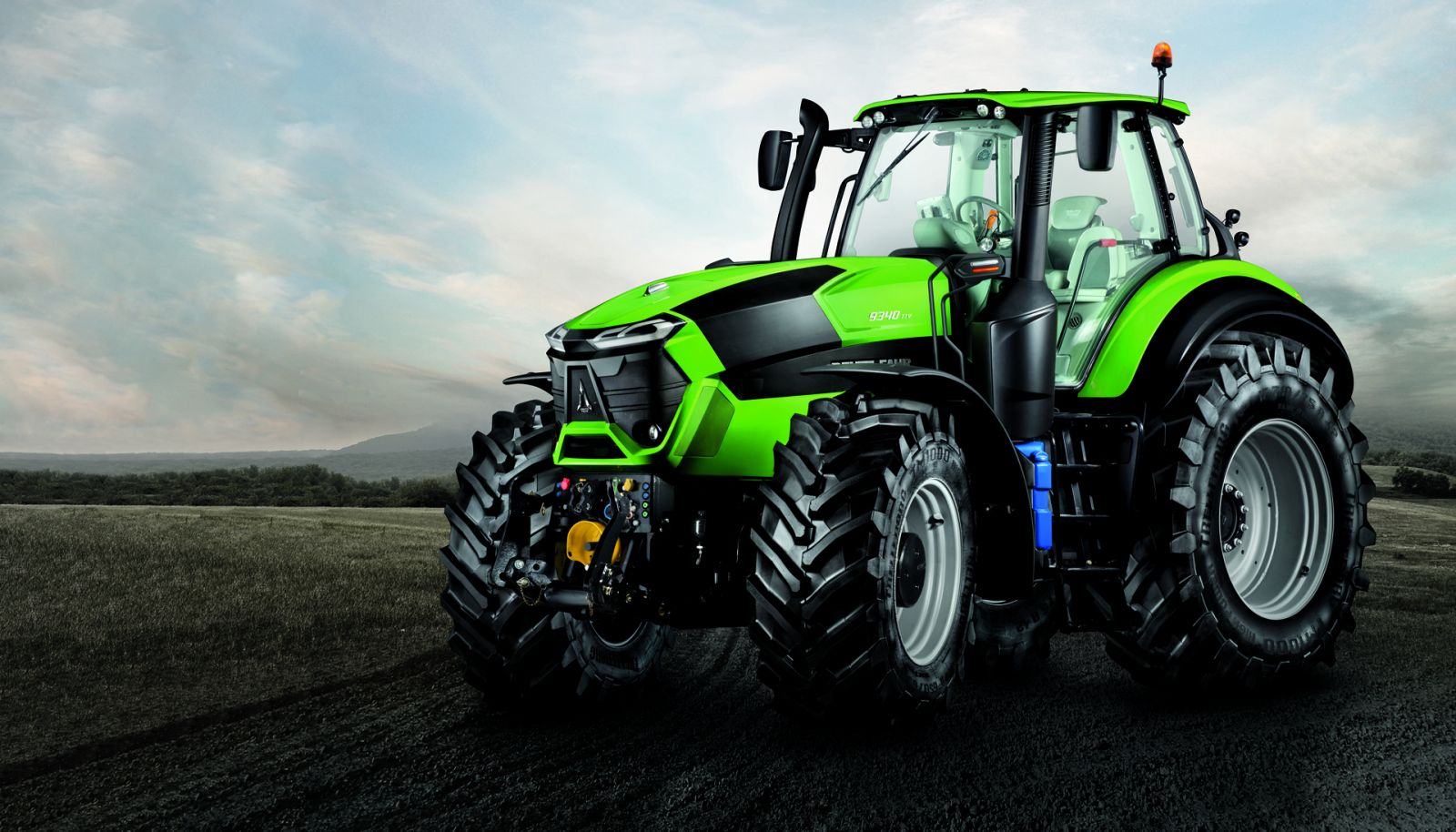 Design By: DEUTZ's Fuel Efficiency Low Operating Costs Tractor By