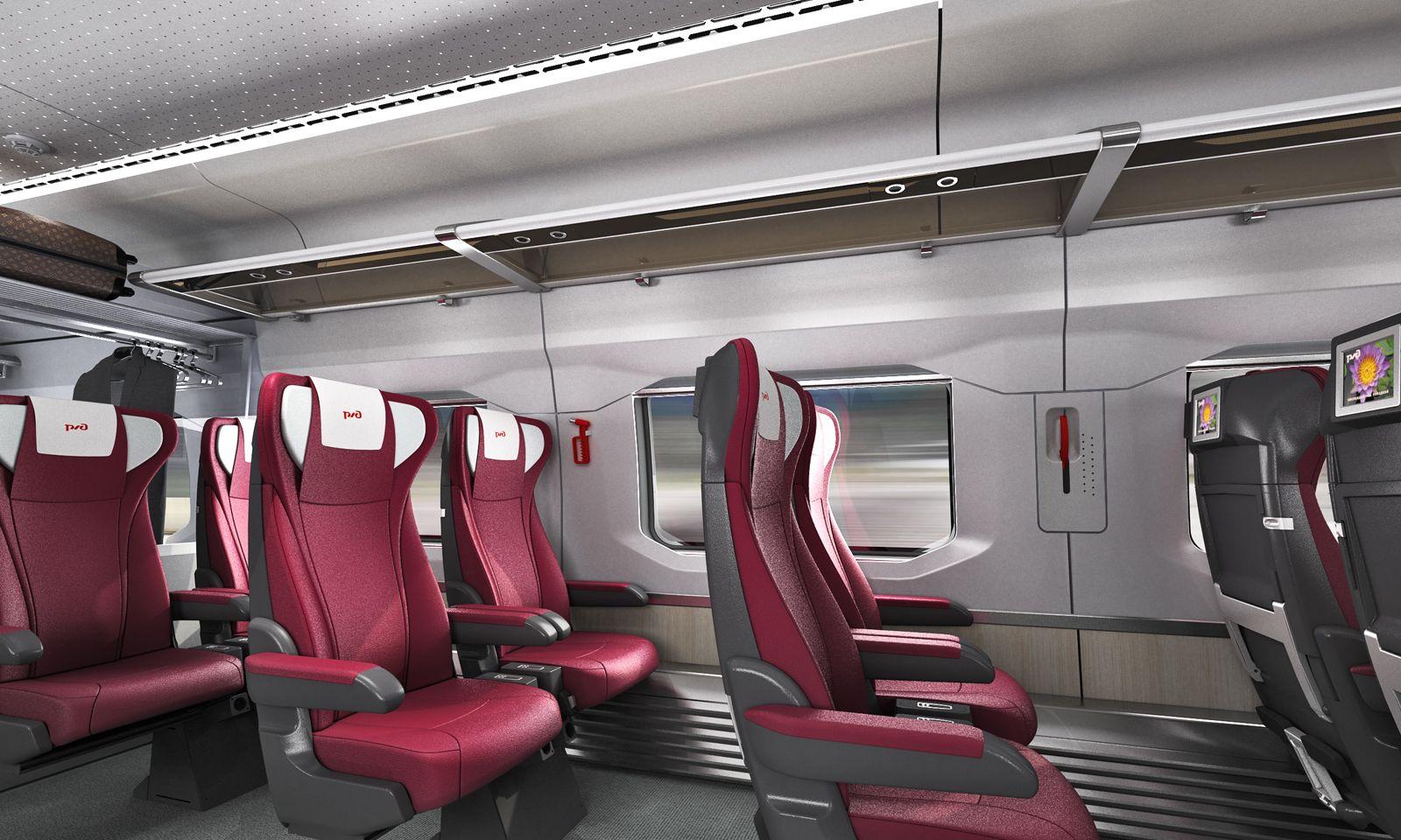 Rzd Double Deck Train Coaches By Giugiaro Design