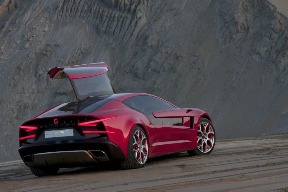 Brivido Is A Sporty Aerodynamic And Elegant Gran Turismo By Giugiaro