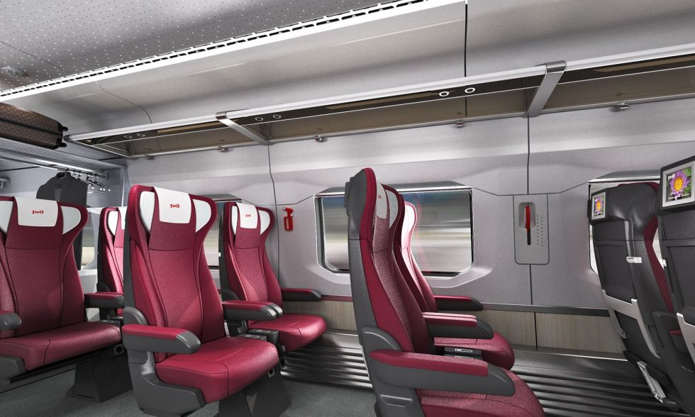 Double-deck Train