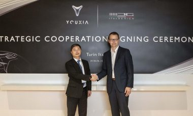 Italdesign to sign a 3-year strategic agreement with Youxia Motors