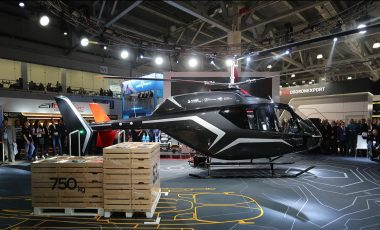 Italdesign and VR-Technologies to introduce new VRT500 helicopter