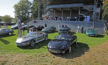 Twenty Twenty awarded during the Aston Martin DB7 Celebration