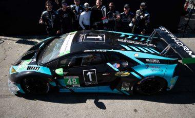 Italdesign-sponsored Lamborghini Huracán GT3 Evo wins in Laguna Seca
