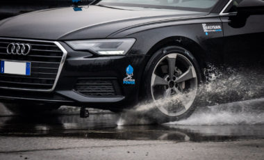 Easyrain, Bosch and Italdesign test anti aquaplaning system on a production car